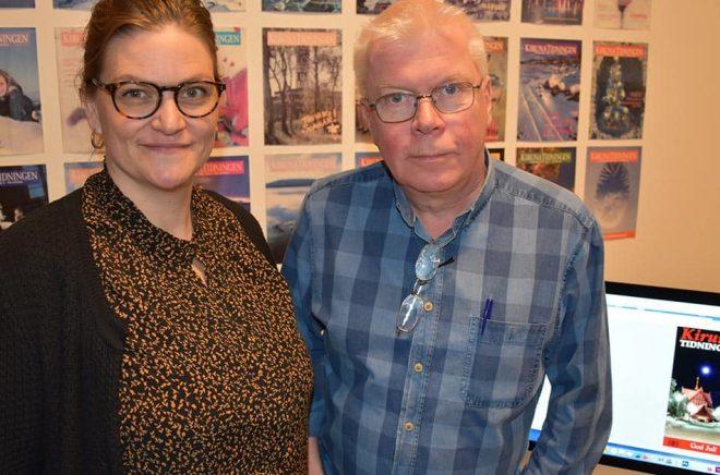 Bokhandlare Tora Lindberg ersätter Kjell Törmä som chefredaktör för KirunaTidningen.