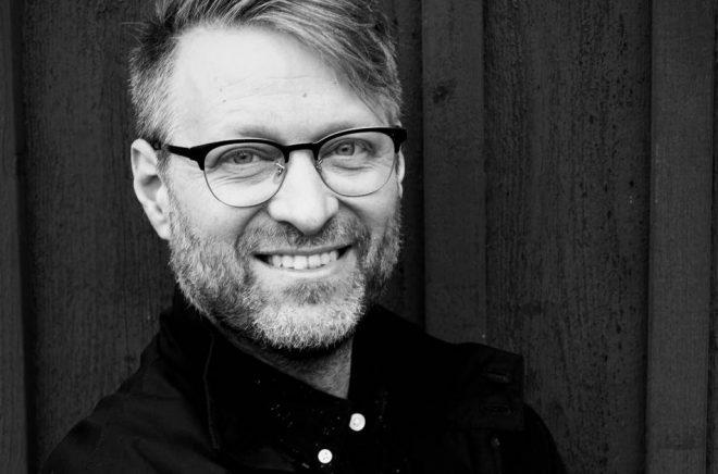 Torbjörn Löwendahl är en av de nominerade författare som kan Selmapriset 2020. Foto: Eva Gonzalez Lindberg