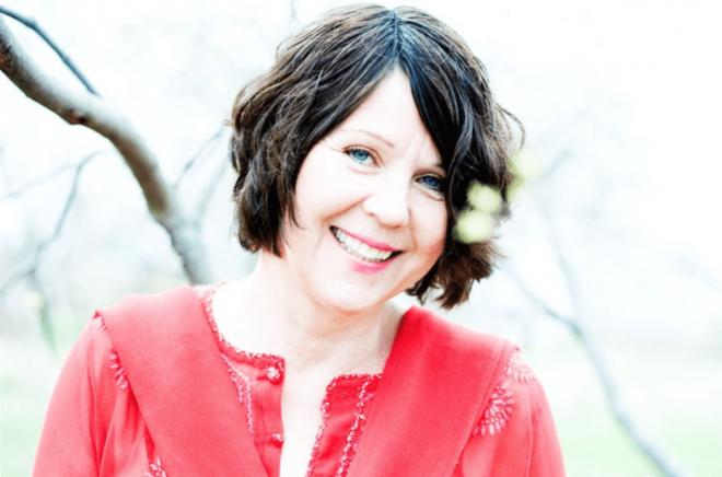 Författaren Eva Susso. Foto:Ulrica Zwenger.