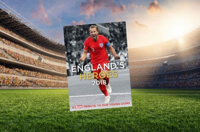 Det engelska landslaget missade visserligen finalen och VM-guldet i Ryssland 2018. Men bokförlagen tror ändå att det finns intresse för att läsa om det unga laget som överträffade förväntningarna. Bakgrundsfoto: iStock.