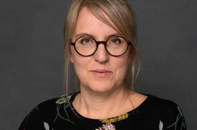 Veronica Lamppa Lönnbro, enhetschef, scen, musik, bild, form och regional samverkan på Kulturrådet. Foto: Hans Alm