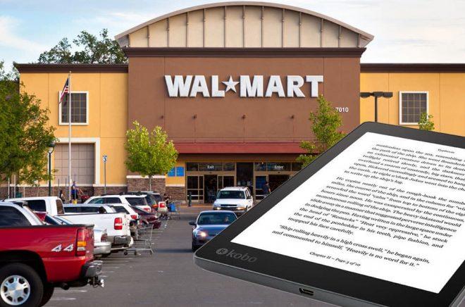 Walmart + Kobo = Sant. Nu ska Walmart börja sälja både eböcker och läsplattor i sina butiker. Foto: Fotolia. Montage: Boktugg.