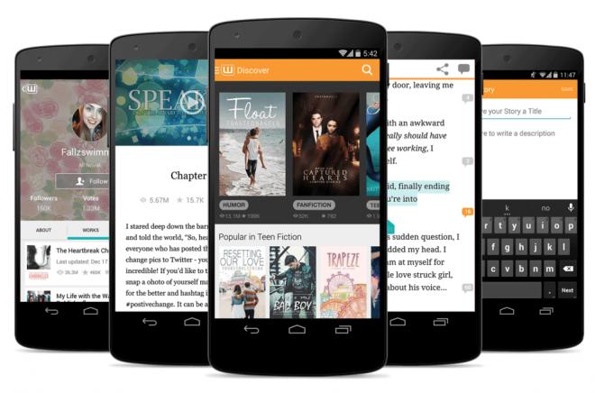 Wattpad-Android-telefoner