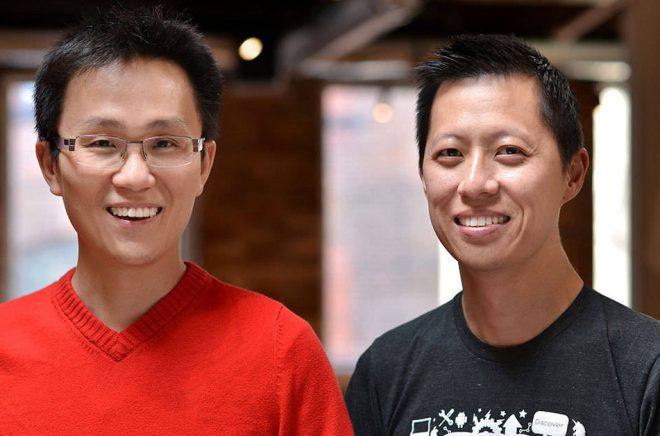 Wattpads grundare Allen Lau, CEO och Ivan Yuen, CPO.