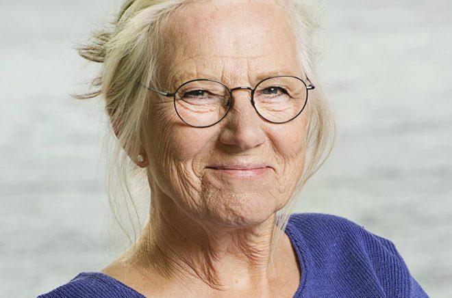 Jujja Wieslander, författare bl a till böckerna om Mamma mu och Kråkan, besöker Stora Barnboksdagen 2020. Foto: Magnus Liam Karlsson