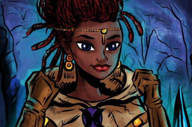 Zelda Falköga, fiktiv äventyrare och författare. Bild: Zelda Falköga