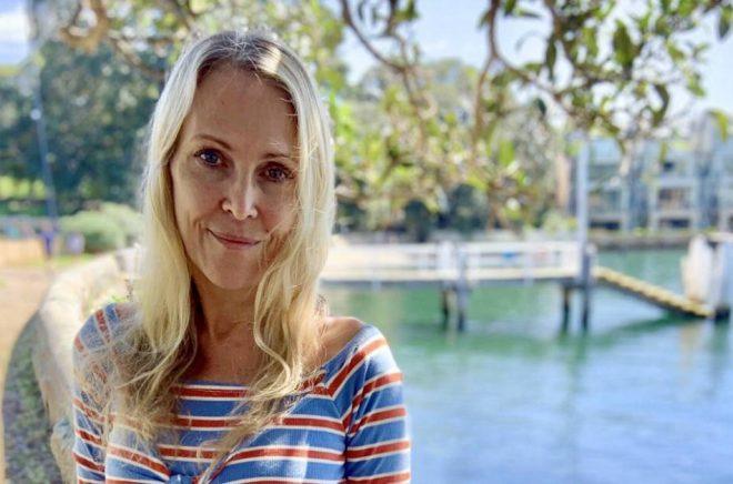 Författaren A.C. Efverman bor i Sydney men skriver Nordic noir. Foto: Privat