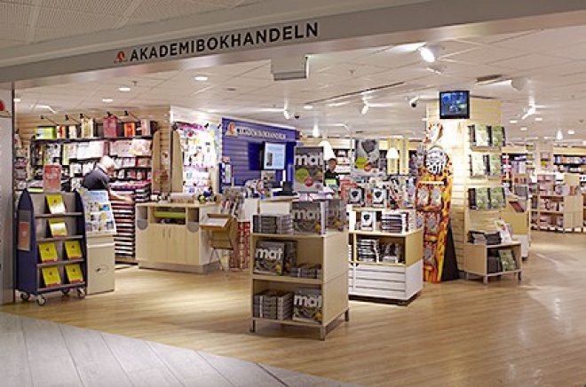 Fysisk bokhandel tappade försäljning första tertialet, jämfört med föregående år.