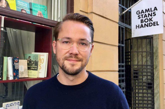 Albin Grahn, redaktör på Volante.