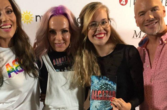 Alcazar med journalisten Fridah Jönsson, författare till biografin Alcazar –Carpe disco.