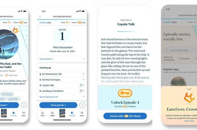 Amazons Kindle Vella ska erbjuda läsare att styckköpa följetänger.