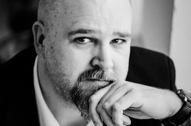 Förläggaren och författaren Anders Nyman. Foto: Conny Palmkvist
