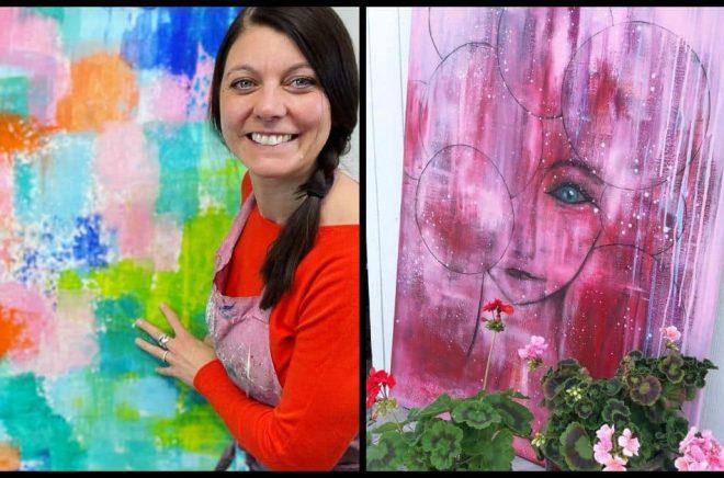 Konstnären och inspiratören Anna Karolina Larsson