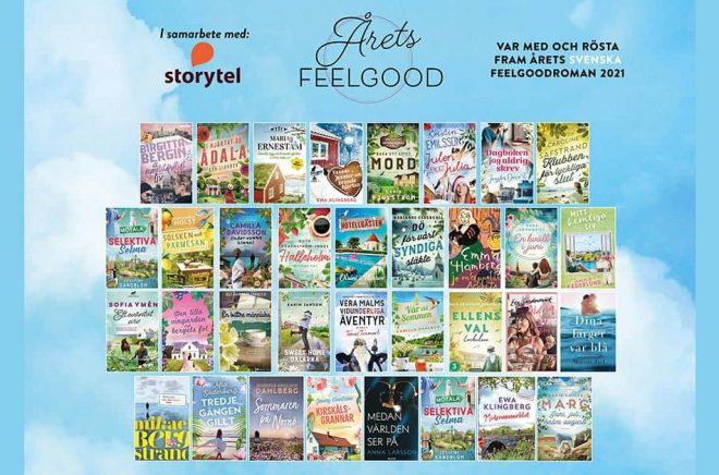 Hela 32 svenska feelgoodromaner finns med på tävlingens long list.