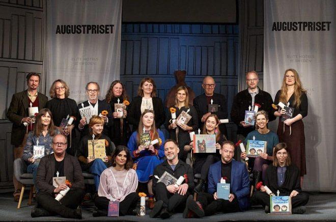 Augustpriset 2021 gruppbild nominerade