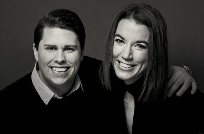 Nicklas Andersson och Johanna Kull. Foto: Avanza