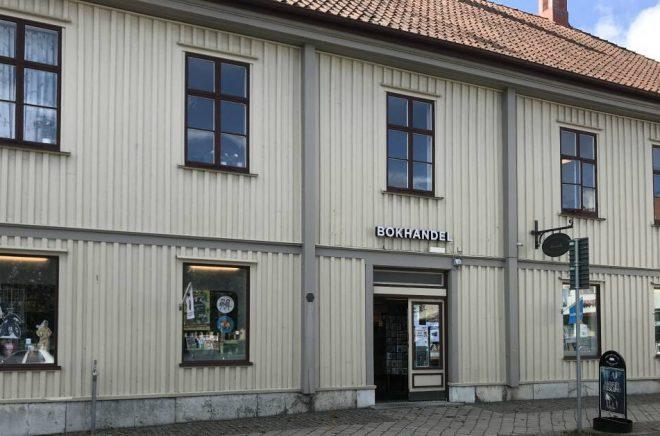 Anrika Axel Ericssons bokhandel i Lidköping har fått ny ägare. Foto: Privat
