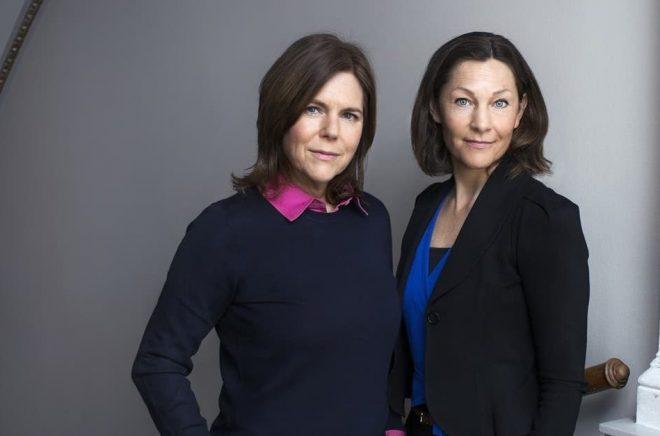 Susanna Romanus och Åsa Selling. Foto: Caroline Andersson