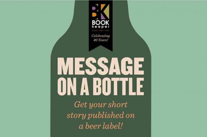 Skriv en novell och tävla om att bli publicerad på en ölflaska.