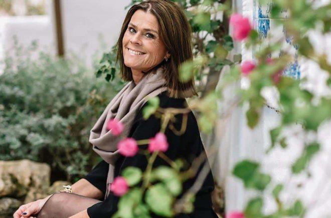 Författaren Birgitta Bergin. Foto: Agata Jensen.