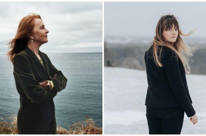 Bodil Malmsten (foto: Terese Andrén) och Ellen Sundberg (foto: Marléne Nilsén).