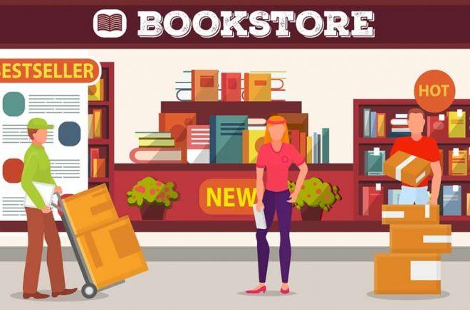 Bokhandel handlar inte bara om inleveranser och att sälja böcker - utan även en hel del returer. Illustration: iStock.