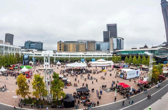 Bokmässan i Frankfurt blir utan publik och utställare i år förutom digitalt. (Bilden från 2014). Foto: iStock.