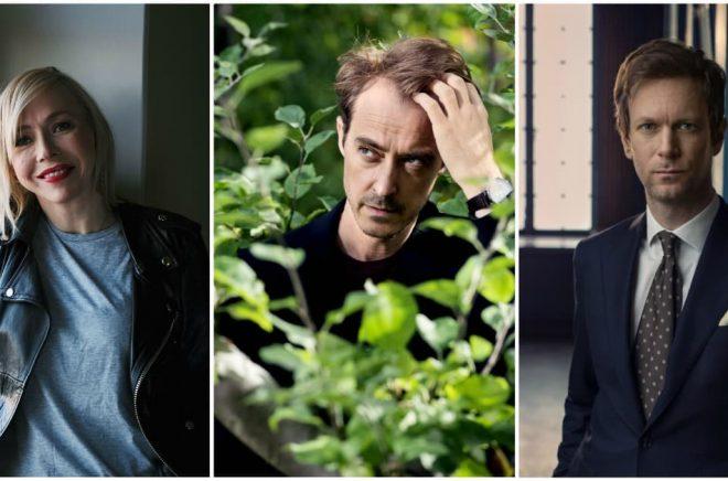 Jenny Jägerfeld (foto: Hugo Thambert), Jonas Karlsson (foto: Magnus Liam Karlsson) och Niklas Natt och Dag (foto: Thron Ullberg) framträder idag på Bokmässan.