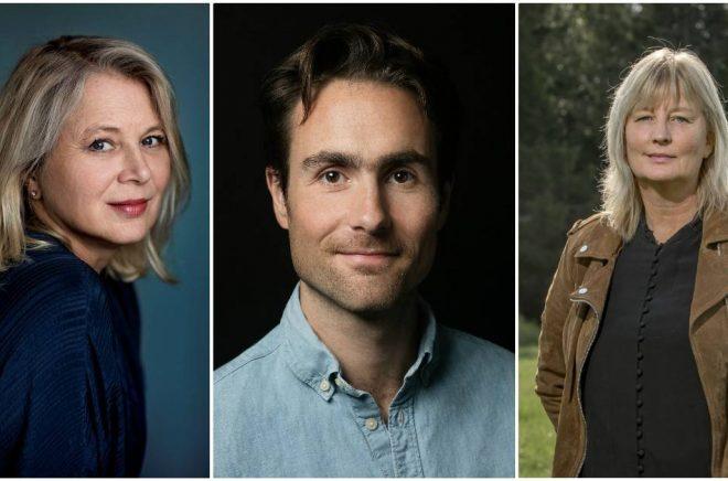 Idag på Bokmässan kan man lyssna till bland annat Helena von Zweigbergk (foto: Thron Ullberg), David Wallace-Wells (foto: Beowulf Sheehan) och Karin Smirnoff.