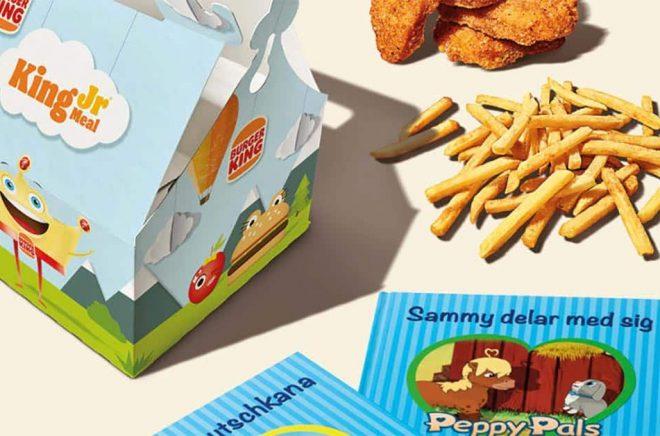 Burger King barnböcker
