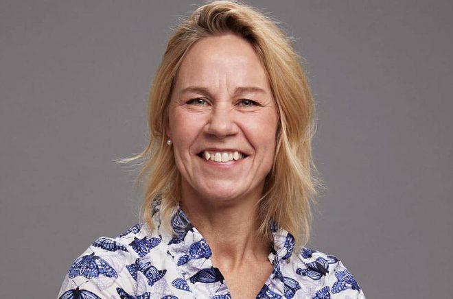 Camilla Silfvenius går från Nextory till Storytel och skaffar sig en längre jobbtitel: Global Head of Content Acquisition. Foto: Mattias Bardå.