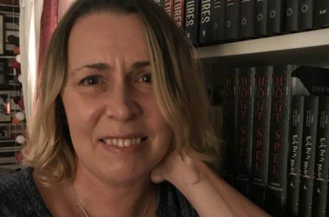 Översättaren Carina Jansson.