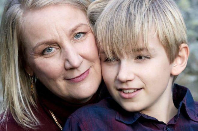 Susan Casserfelts nya bok handlar om livet som förälder till ett barn med särskilda behov. Foto: Bengt Alm