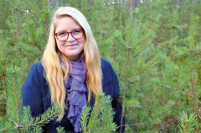 Cecilia Larsson Kostenius Foto: Lena Leffler