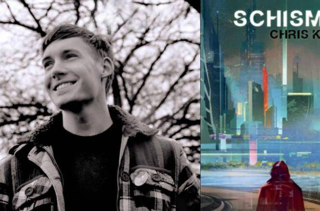 Chris Kelso ges ut på svenska av Sigill förlag med romanen Schismen. Foto: Pressbild/Sigill förlag