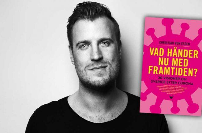 Författaren och journalisten Christian von Essen. Foto: Daniel Stigefelt.