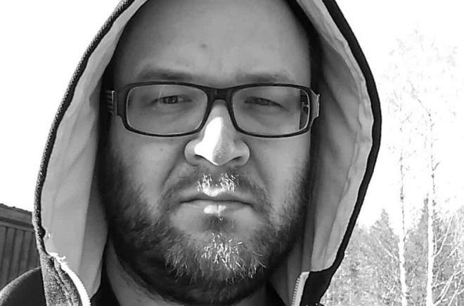 Författaren Christofer Eriksson. Foto: Privat