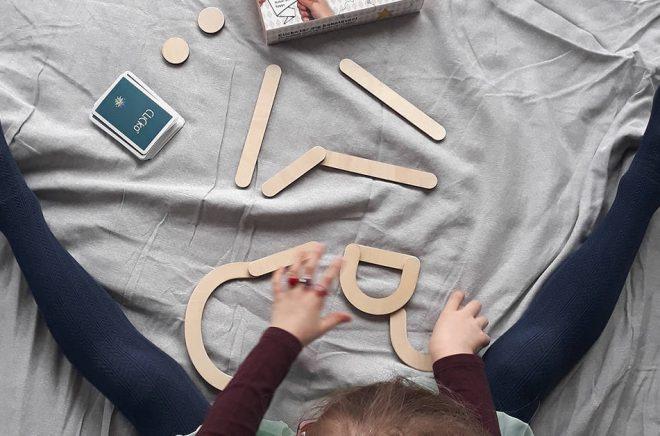 Bokstavsspelet Clicko som bland annat nominerades till årets barnspel 2018. Foto: Hanna Malmström