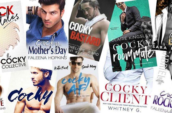 Cocky –ett populärt ord i boktitlar. Kanske har det blivit ännu mer populärt sedan en författare försökte varumärkesskydda det.
