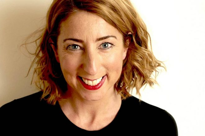 Jenny Colgan är en av de medverkande på Feelgoodafton. Foto: Charlie Hopkinson