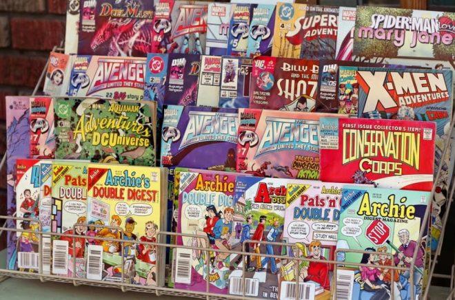 Digitala serietidningar säljer bättre än tryckta i Japan. Och i USA engagerar Marvel sina fans genom en plattform för fanfiction. Foto: iStock
