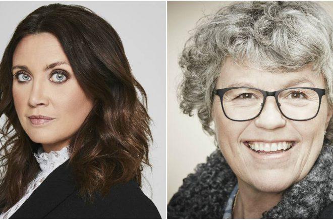 Camilla Läckberg (foto: Magnus Ragnvid) och Anne Holt (foto: Anna-Lena Ahlström) kommer till Crimetime i höst.