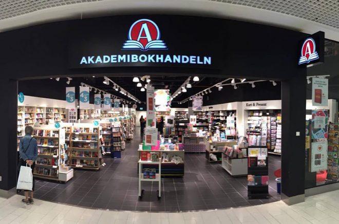 Akademibokhandeln, Galleria Center Syd Foto: Privat