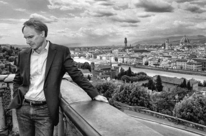 Författaren Dan Brown. Foto: Claudio Storza/Albert Bonniers förlag