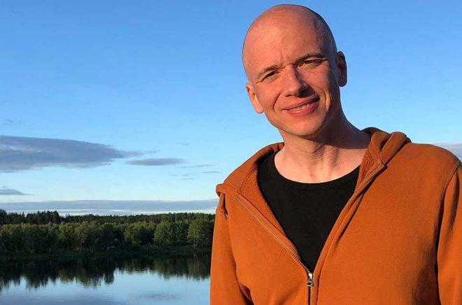 Författaren Daniel Åberg. Foto: Storytel