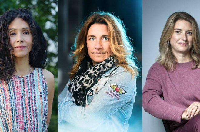 Lisa Christensen (foto: privat), Anna Granlund (foto: Stefan Tell) och Annika Telléus (foto: Caroline Andersson).