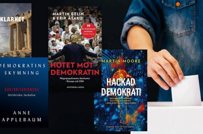 boktips - böcker om demokrati