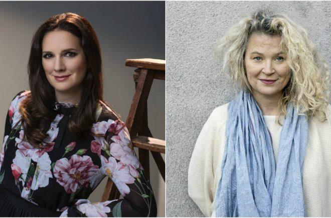 Sofie Sarenbrant (foto: Thron Ullberg) och Stina Wirsén (foto: Maria Annas) är två av pristagarna i årets Stora e-bokspris som utses av Nextory.
