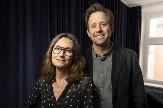 Anna-Lena Hernvall och Adam Dahlin. Fotograf: Naima Jåma