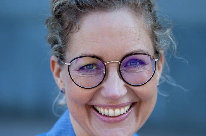 Eva Houltzén, VD Axiell Media. Foto: Louise Nylund